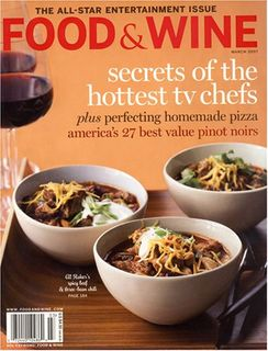 Food & Wine, March 2007 Issue